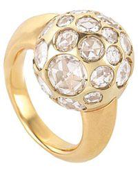 Pomellato 18k Crystal Ring - Metallic