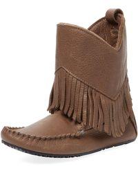 Manitobah Mukluks - Okotoks Leather Boot - Lyst