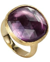 Marco Bicego Jaipur 18k Amethyst Cocktail Ring - Multicolour