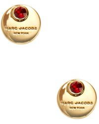 Marc Jacobs - Coin Stud Earrings - Lyst