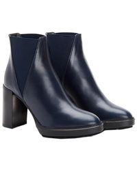 Aquatalia - Ivana Waterproof Leather Bootie - Lyst