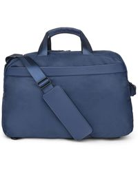 Bugatti Convertible Duffel Bag - Blue