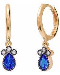 Gabi Rielle - 22k Over Silver Cz Earrings - Lyst