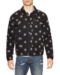 Love Moschino - Stars Print Denim Jacket - Lyst