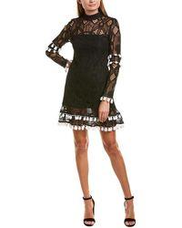 Alexis Shift Dress - Black