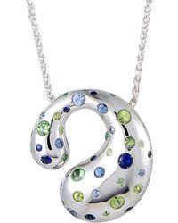 De Grisogono 18k 4.60 Ct. Tw. Gemstone Necklace - Metallic