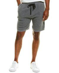 Phenix Waffle Cashmere-blend Shorts - Grey