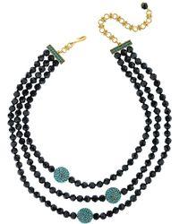 Heidi Daus Crystal Necklace - Black
