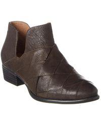 Seychelles Deep Sea Leather Bootie - Brown