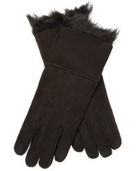 Surell - Toscana Cuff Gloves - Lyst