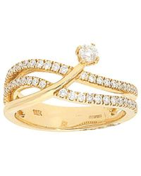 Nephora - 14k Yellow Gold 0.54 Ct. Tw. Diamond Ring - Lyst