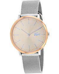 Lacoste Women's Moon Watch - Metallic