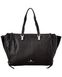 Vince Camuto Riley Large Leather Tote - Black