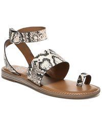 Franco Sarto Gracious Leather Sandal - Multicolour