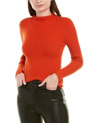 A.L.C. Lamont Wool-blend Sweater - Orange