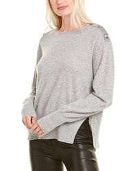 The Kooples Knit Wool-blend Pullover - Grey