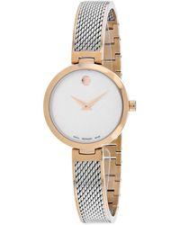 Movado Amika Watch - Metallic