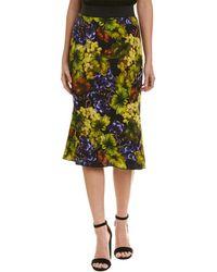 Dolce & Gabbana Silk-lined Pencil Skirt - Green
