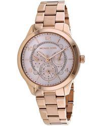 Michael Kors Women's Runway Watch - Pink