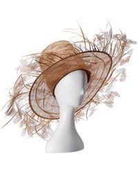 Valentino Straw Sun Hat - Multicolor