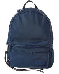 Rebecca Minkoff Medium Zip Backpack - Blue