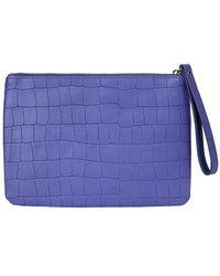 Gigi New York Clutch Wristlet - Purple
