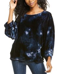 Go> By Go Silk Go By Go>silk Velvet Raggedy Ann Silk-blend Shirt - Grey