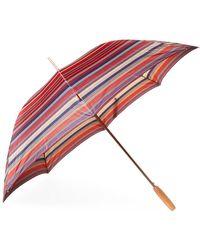 Missoni Enzo Striped Umbrella - Red