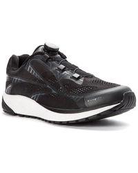 Propet One Reel Fit Mesh Sneaker - Black