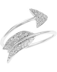 Diana M. Jewels . Fine Jewellery 14k Diamond Ring - Multicolour