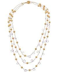 Effy Fine Jewellery 14k 35.38 Ct. Tw. Gemstone Necklace - Metallic