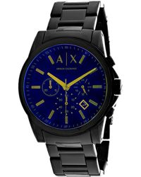 Armani Exchange Men's Classic Watch - Blue
