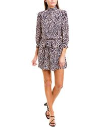 Zadig & Voltaire Rivali Print Mini Dress - Pink