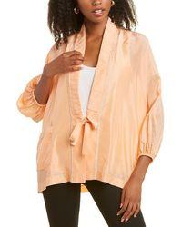 Forte Forte Kimono Silk Jacket - Multicolour