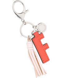 Rebecca Minkoff Letter Key Fob - F - Red