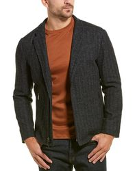 Robert Barakett Calabria Wool-blend Jacket - Black