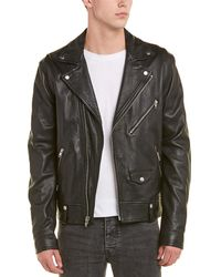Vince - Leather Moto Jacket - Lyst