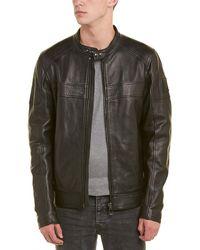 Belstaff A.racer Leather Jacket - Black