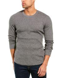 Vince Waffle-knit Shirt - Grey