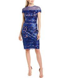 Tadashi Shoji Sheath Dress - Blue