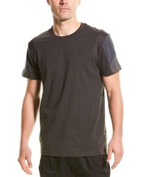 G-Star RAW Raw Motac Fabric Mix T-shirt - Black