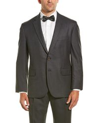 Brooks Brothers Madison Classic Fit Wool Suit - Gray