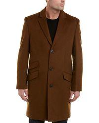 Hart Schaffner Marx - Shelby Wool & Cashmere-blend Coat - Lyst