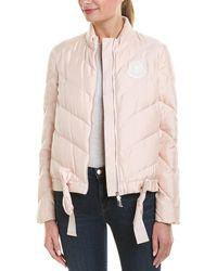 Moncler Silk Jacket - Pink