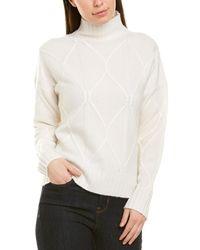 Magaschoni Cashmere Pullover - White