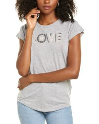 Zadig & Voltaire - Skinny Love T-shirt - Lyst