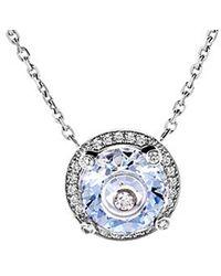 Chopard 18k Crystal Pendant Necklace - Multicolour