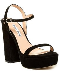 898735d94a28 TOPSHOP Regal Strappy High Heel Sandals in Metallic - Lyst