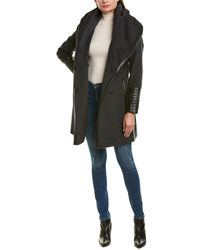 Via Spiga Marla Wool-blend Coat - Gray
