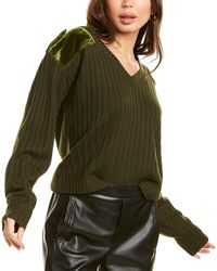 Zadig & Voltaire Fanny Wool Sweater - Green